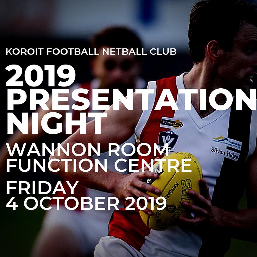 KFNC 2019 PRESENTATION NIGHT