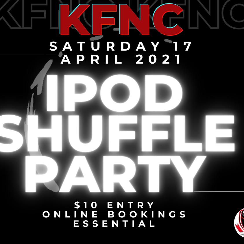 KFNC iPod shuffle PARTY