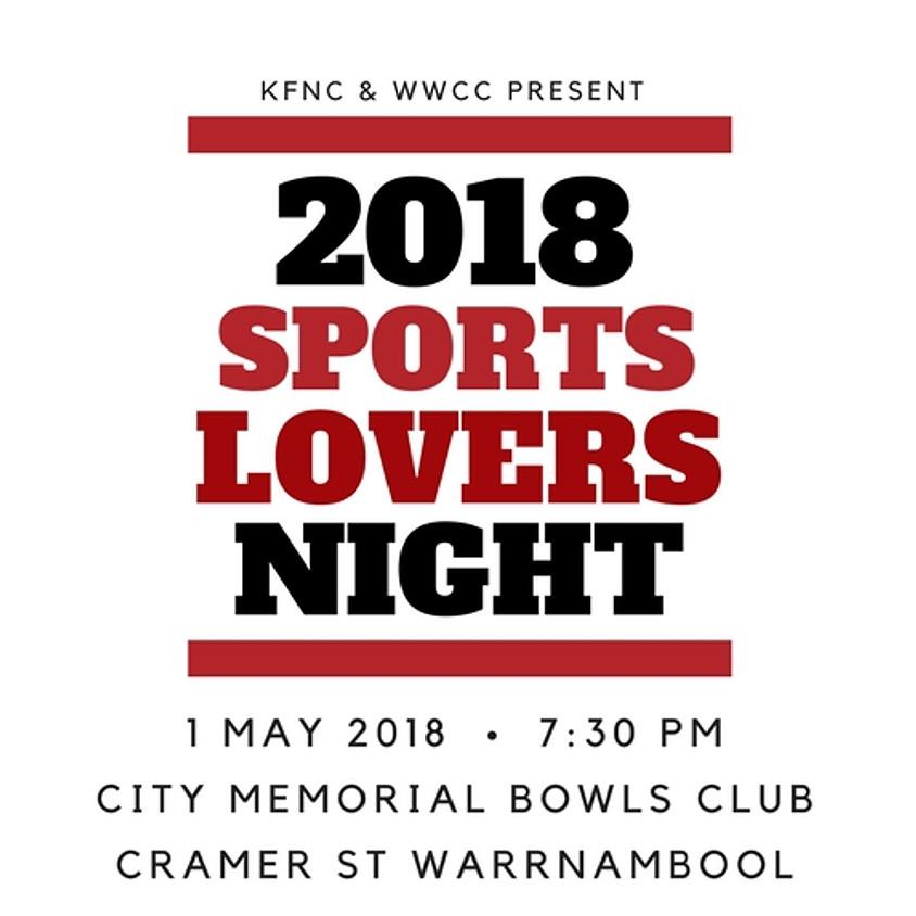2018 Sportslovers Night