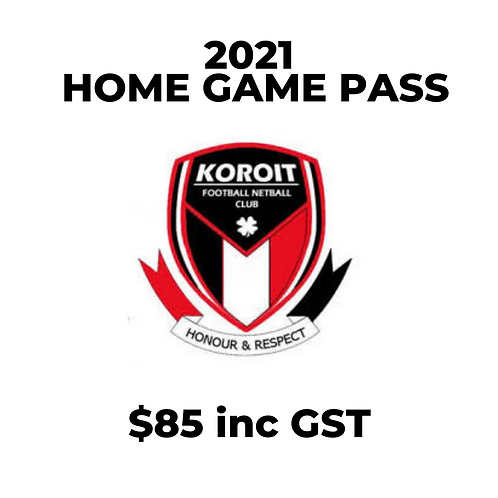 2021 Season Pass (Home Games)
