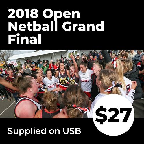 2018 HFNL Open Netball Grand Final