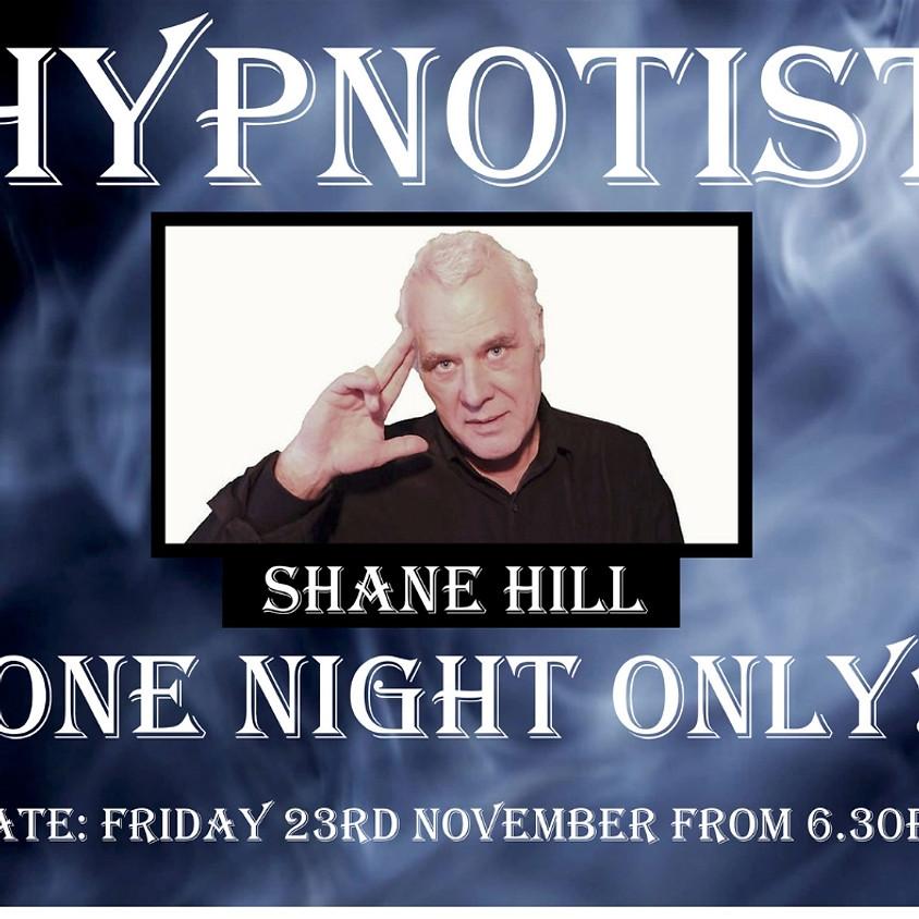 Hypnotist Shane Hill