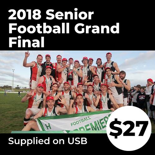 2018 HFNL Senior Football Grand Final