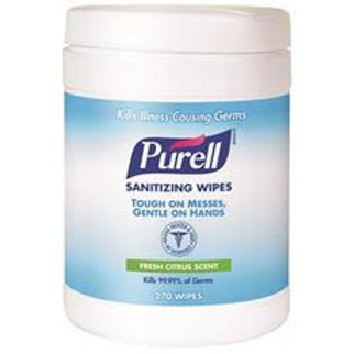 Purell Sanitizing Wipes (270 per Pack)