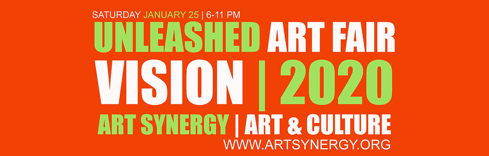 Unleashed Art Fair Art Synergy 2020 Bann