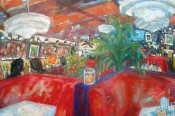 Palm Beach Grill 36 x 48