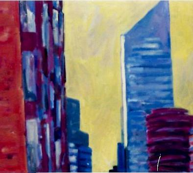 CityScape 2 36 x 48