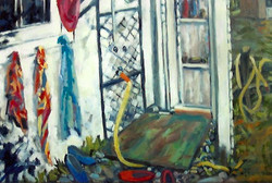The Shower 30 x 40