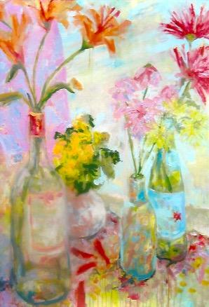 Floral 1 -214 40 x 30.