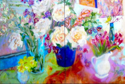 Tulips, Orchids and roses 40 x 60.jpeg