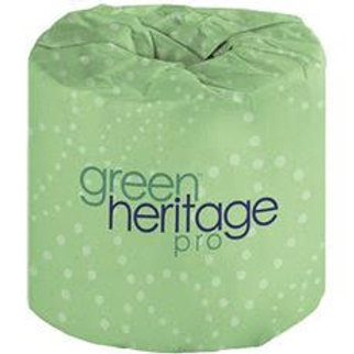 Green Heritage 2-Ply White 100% Recycled Bathroom Tissue