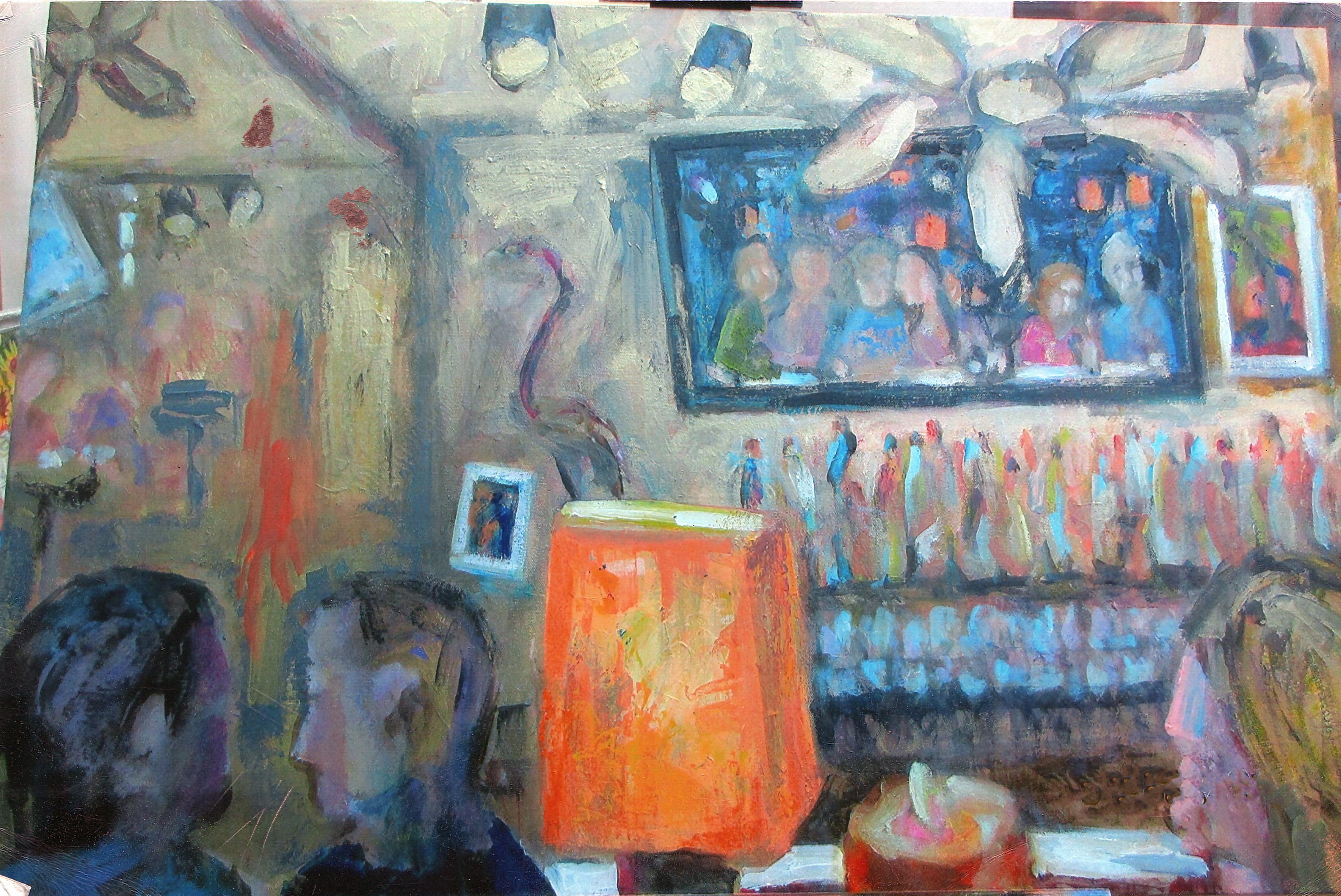 Palm Beach Grill  #5 36 x 48