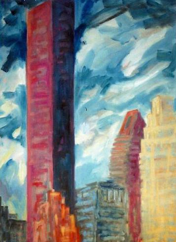 CityScape 4 36 x 48.