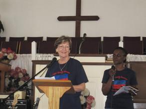 Judi Miller speaking
