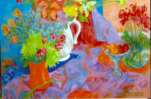 orange Vase and Cloth  48 x 60_edited