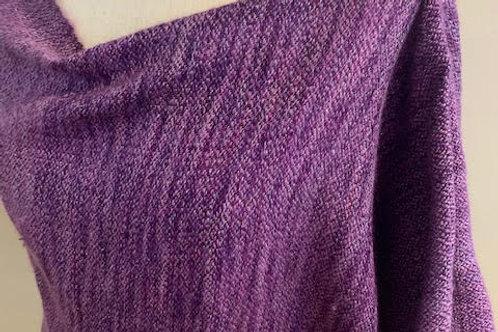 Handwoven Mohair and Silk Wrap