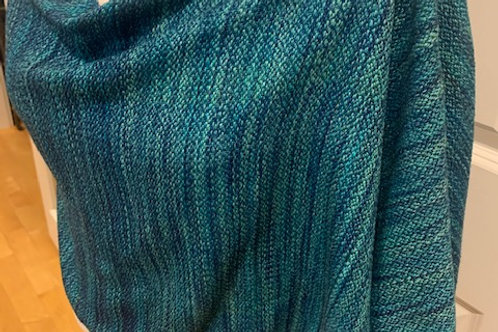 Handwoven Mongolian Cashmere and Silk Wrap