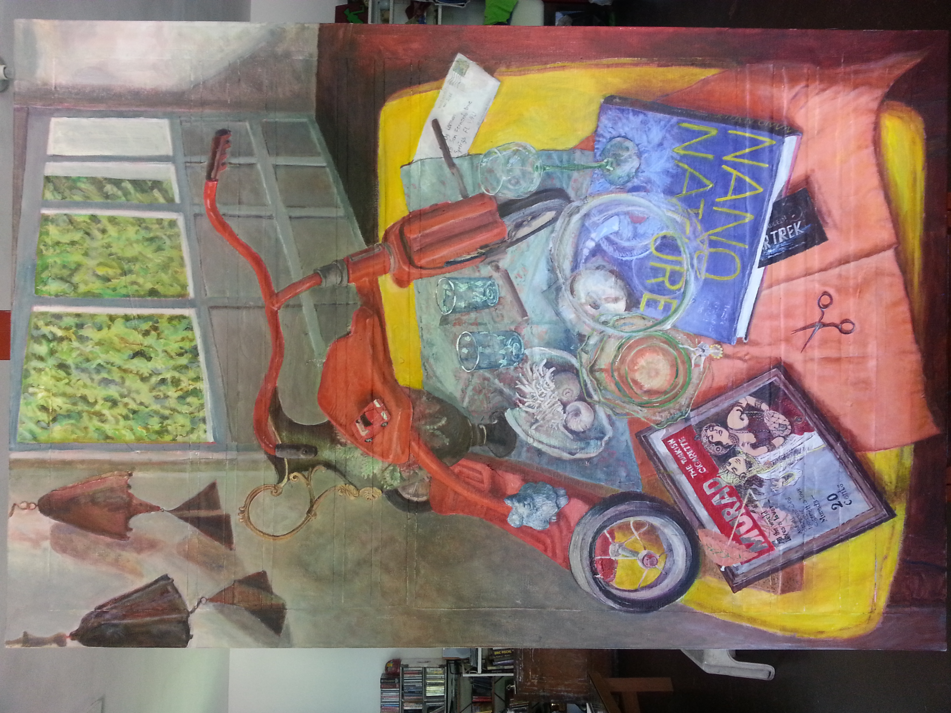 Sandy Lerman, Talya's Trike, 36Wx54L (1)