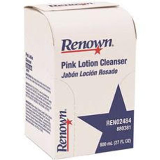 Renown Bag-In-Box 800 ml Pink Lotion Hand Soap Refill