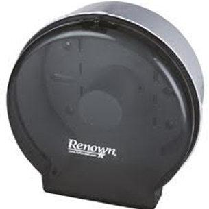 Renown Black single Jr Jumbo Toilet Paper Dispenser