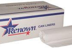 Renown 15 Gal. 0.45 mil 24 in. x 32 in. White Can Line