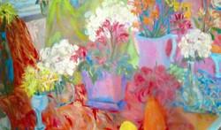 Flowers 3-2015 48 x 60