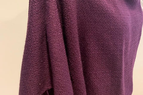 Handwoven Peruvian Alpaca and Silk Wrap