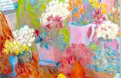 Oil on Canvas 48 x 72