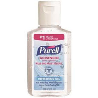 Purell 2 oz. Sanitizer Squeeze Bottle Flip Cap