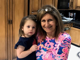 5. Bernadette Shalhoub with granddaughte