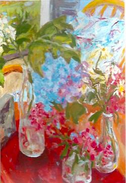 Floral  5 2014 30 x 40