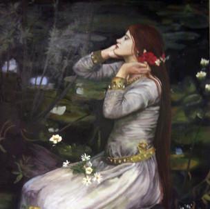Ophelia-Waterhouse Study
