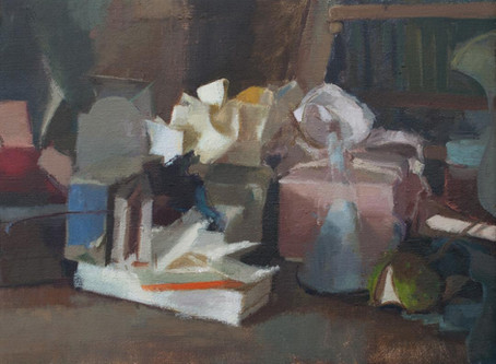 Last Two Places on Ilaria Rosselli Del Turco Still Life Painting Course 24th, 25th March Norwich Nor