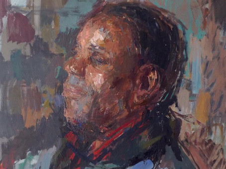 Daniel Shadbolt Portrait Taster Day