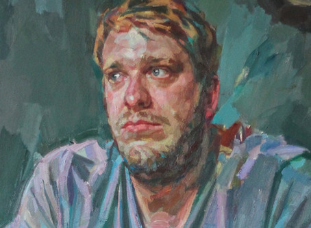 Andrew James Portrait Painting Workshop 25th,26th July Cambridge