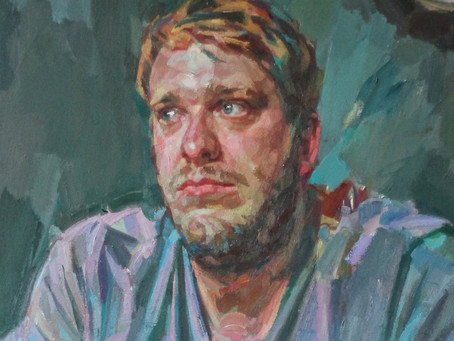 Andrew James Portrait Painting Workshop 25th,26th July Cambridge