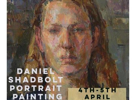 Last two places available on Daniel Shadbolt Portrait Painting Course.