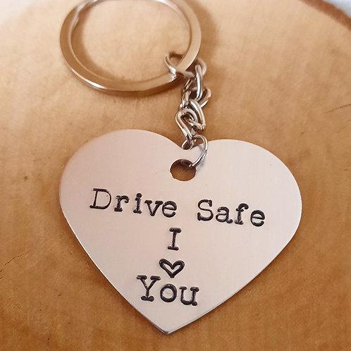 """Porte-clés """"Drive safe"""""""