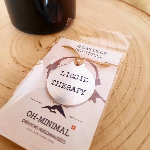 """Médaille """"Liquid therapy"""""""