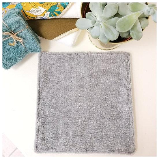 Lingette XL 100% bambou gris clair