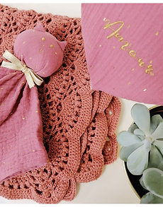 """Couverture en laine """"Victoire"""""""