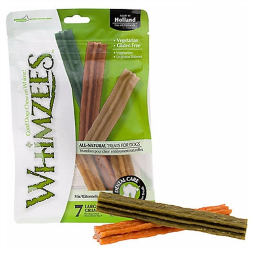 Whimzees Stix Dental Dog Treats by the Bag/Small
