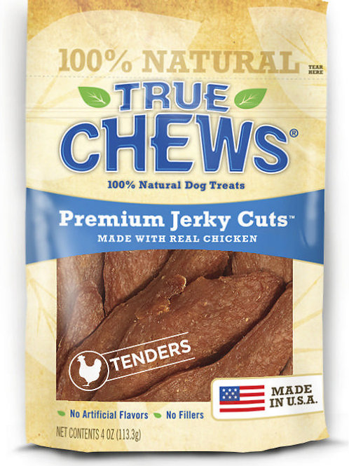 True Chews Premium Jerky Cuts with Real Chicken 4 oz