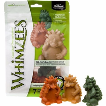 Whimzees HedgeHog Dental Dog Treats by the Bag/Md