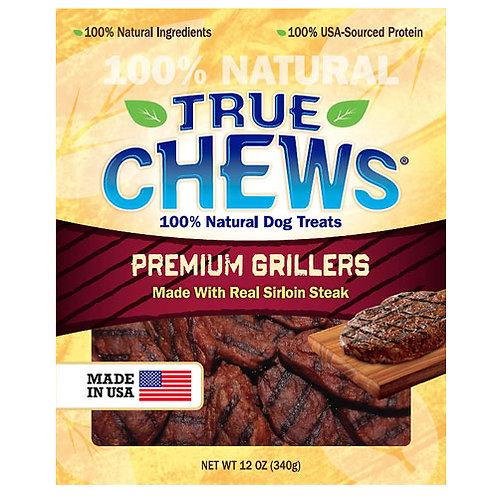 True Chews Premium Grillers with Real Sirloin Steak 12 oz.