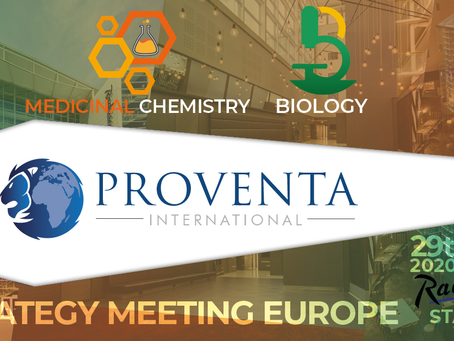 Past Event: 29 June 2020: Biology & Medicinal Strategy Meeting | Proventa 2020