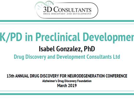 Past Event: 17-19th March 2019: Presentation at Neurodegeneration Conference