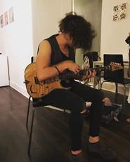 Give me a guitar and I'll tell you my li