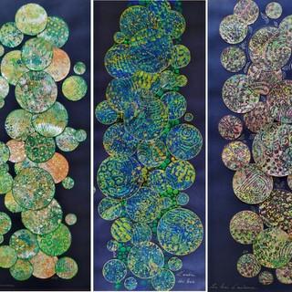 Les bulles de couleurs mises en scène