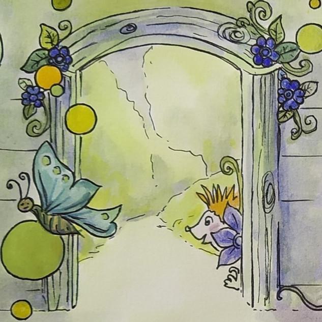 Une porte sur leurs rêves...